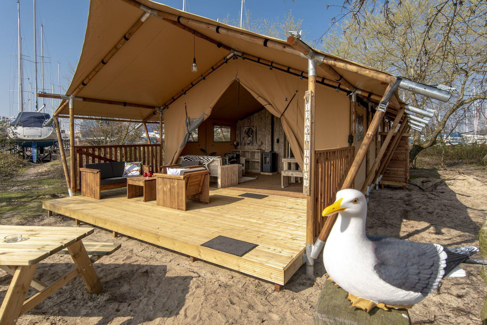Safarilodge XL 6 persoons